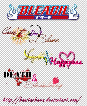 Quotes From Bleach http://hanitachawn.deviantart.com/art/Bleach-Quotes ...