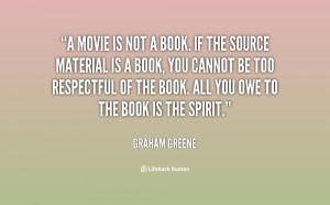 Movie Graham Greene Quotes