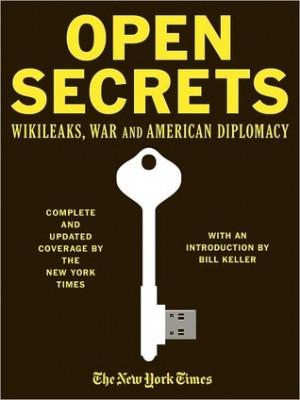 """Start by marking """"Open Secrets: WikiLeaks, War and American ..."""