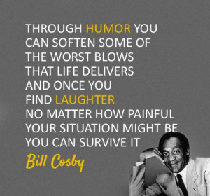Bill Cosby on humor