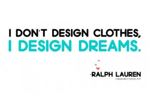 Fashion quotes and sayings style ralph lauren