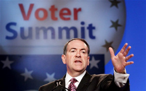 Mike Huckabee's new book in 15 quotes