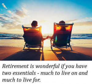 Inspirational Retirement...