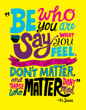 Be Who You Are 03.03.2012
