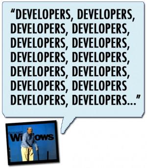 14. Steve Ballmer, CEO of Microsoft: