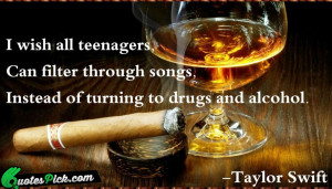 Wish All Teenagers by taylor-swift Picture Quotes