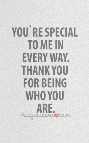 You Are Special Quotes and Sayings