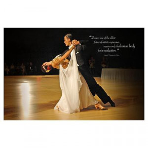 CafePress > Wall Art > Posters > Ballroom (Youskevitch quote) Poster
