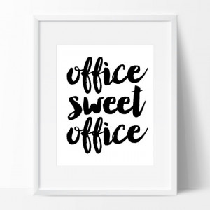 ... Chic Modern Office Bedroom Girly Movie Quote Friday Funny Dirty Work
