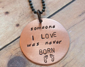 Miscarriage Pendant Reads