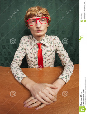 Funny Nerdy Guy Royalty Free Stock Photos Image Ginger People Ugly ...