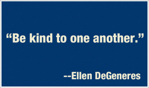 Quote of the Day: Be Kind