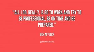 Ben Affleck Quote