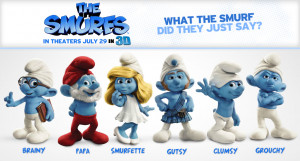 "If I Were A Naughty Smurfette for a Day…"" . Oh... my... Smurf!"