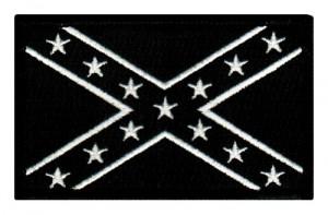 ... Flag Embroidered Patch Iron-On Civil War Rebel Uniform Emblem