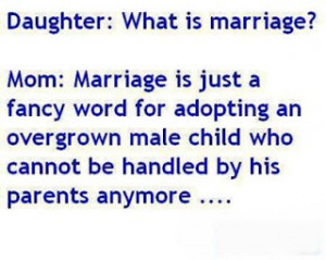 What Is Marriage Funny Facebook Quote