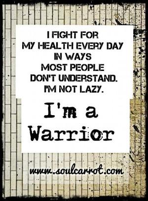 am a Fighter!