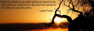 Bull Rider.Lane Frostings Quotes, Favorite Qoutes, 3 Quotes ...