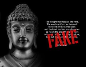 We love this blog of fake Buddha quotes.