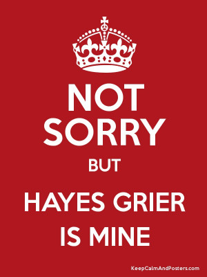Hayes Grier Quotes