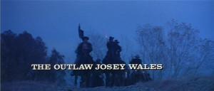 CLINT EASTWOOD (JOSEY WALES), CHIEF DAN GEORGE (LONE WATIE), SONDRA ...