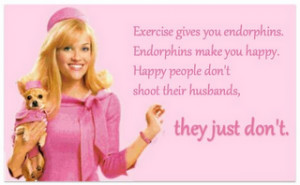 Anyone else remember this quote from Legally Blonde?