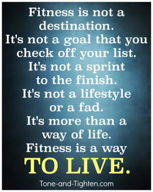 Fitness motivation – Fitness is more than a way of life – Gym ...