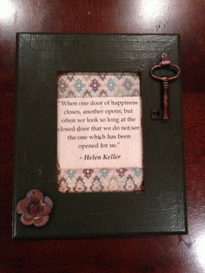 make!! Hand painted wood frame from Michael's ($2.99), printed quote
