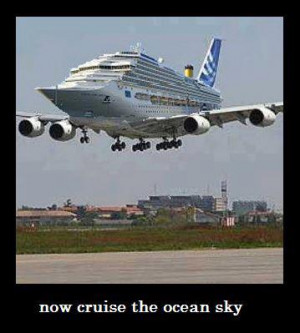 Cruise Ship Plane