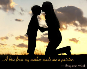 Mother's love is peace. It need not be acquired, it need not be ...