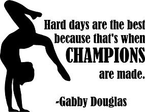 gabby douglas quote wall decal