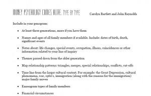 genogram symbols and explanations