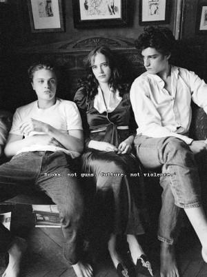 ... : Bernardo Bertolucci Stars: Michael Pitt, Louis Garrel and Eva Green