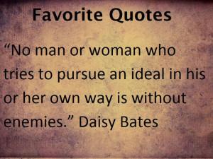 Daisy Bates Quotes