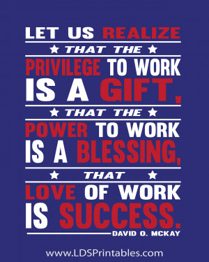 Quote Of The Day Work Happy labor day!