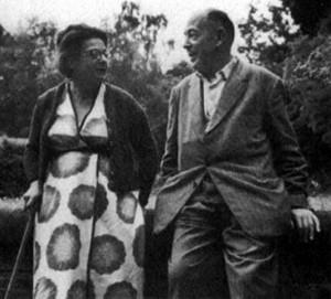 Joy Davidman Lewis & C.S. Lewis
