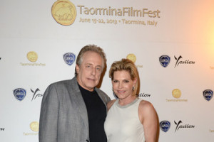 Producer Charles Roven Stephanie Haymes Roven Celebrities At The