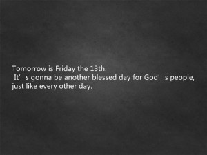 Best Friday The 13th Quotes For Facebook 2015
