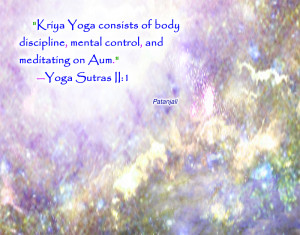 PQ01 Patanjali Kriya yoga quote wallpaper
