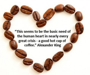 ... coffee transcends all hardship. You can participate at Coffee Sharing