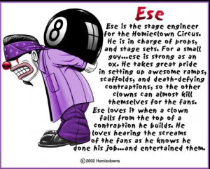 Bio Ese of the Homie Clowns Image