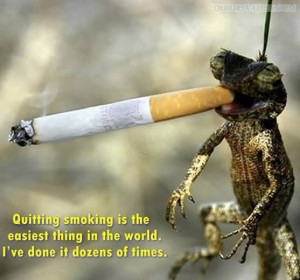 Quitting Smoking Is The Easiest Thing In The World
