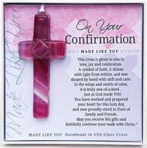 This cross is given to you in love, joy and celebration. A symbol of ...