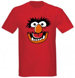 1107 T Shirt Muppet Face Animaljpg