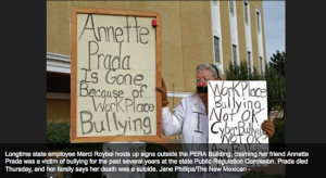 Workplace bullying drives Annette Prada, NM gov't worker, to suicide