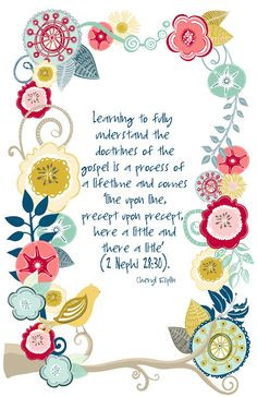 ... Design { by Kristin Clove }: July Visiting Teaching Handout 2013 More