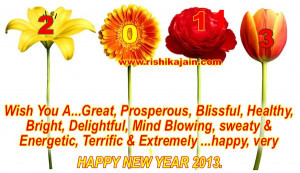"... : ""Happy New Year 2013 Wishes & Greetings!!!"" plus 1 more"