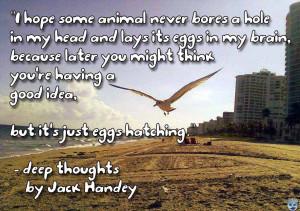 best jack handey quotes