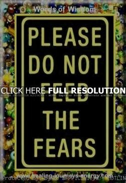 healing quotes, best, deep, sayings, fears