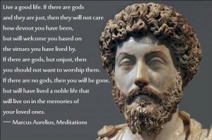 quote by Marcus Aurelius that says: